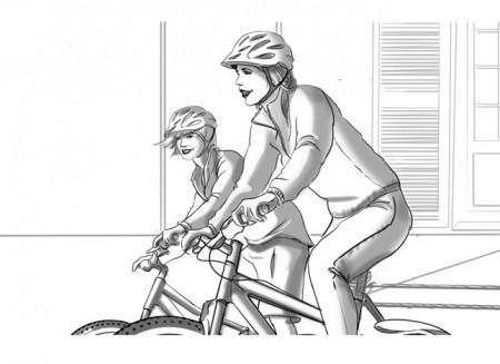Roughman Visage Freelance en Alpes Maritimes / Yann PEREIRA storyboard.film.publicité.Decathlon