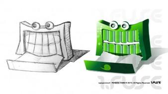Illustration Personnage Mascotte vectoriel