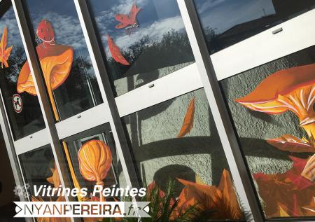 2.Vitrine.decoration.automne.peinture.vitre.art