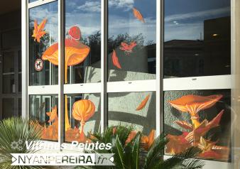 4.Vitrine.decoration.automne.peinture.vitre.art