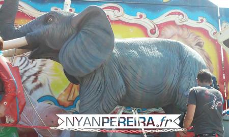 Artiste.animaux.peinture.Cirque.decoration.7