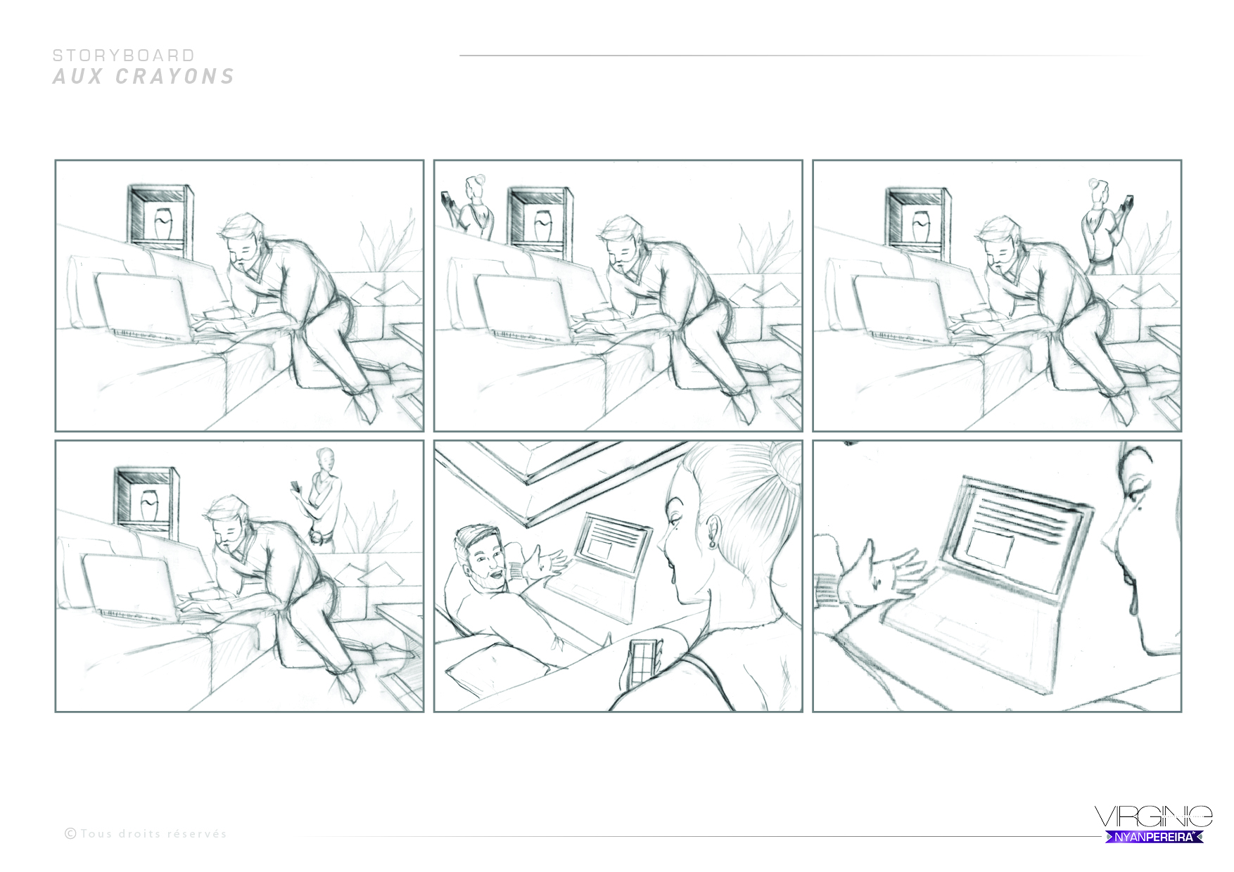 Storyboarder Freelance Paris : Image storyboard (1)