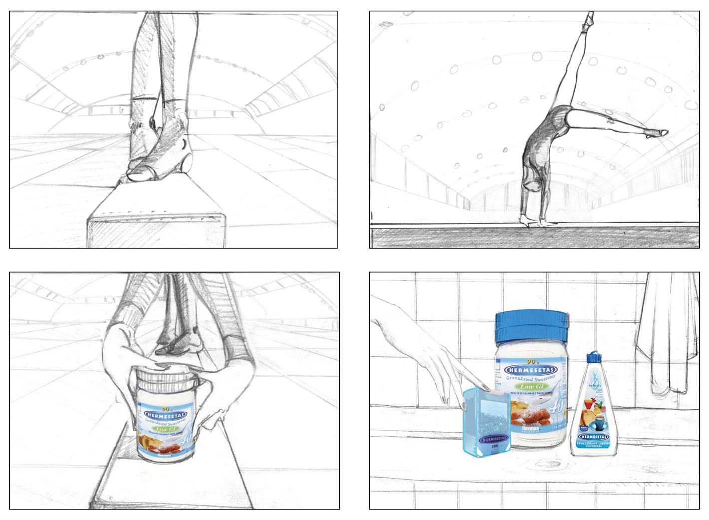 Hermesetas2.rough.nyan.pereira.dessinateur.illustration.storyboard.Sucre.femme.courire.agence.equilibre.sante