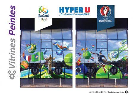 Vitrine.décoration-RIO.2016.jeux.olympiquesBresil