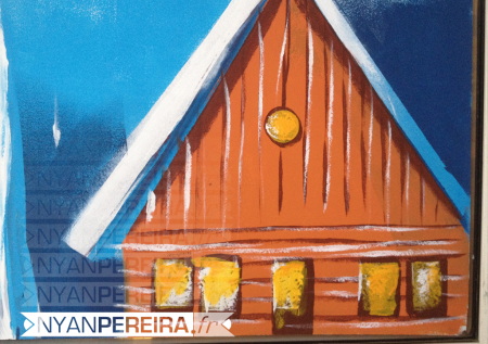 vitrinepeinte-centre-commercial-decoration-noel-paysage-maison