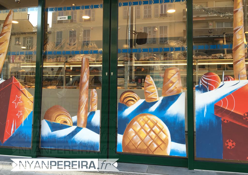 13-vitrine-peinte-noel-decoration-boulangerie-pain-bagette