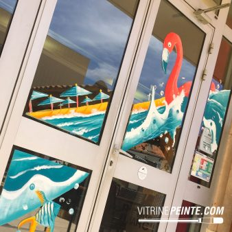 03-5.production.vitrine.peinture.vitre.decoration.ambiance.plage.ete.summer.BAR.BRASSERIE.RESTAURANT