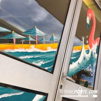 03-8.production.vitrine.peinture.vitre.decoration.ambiance.plage.ete.summer.BAR.BRASSERIE.RESTAURANT