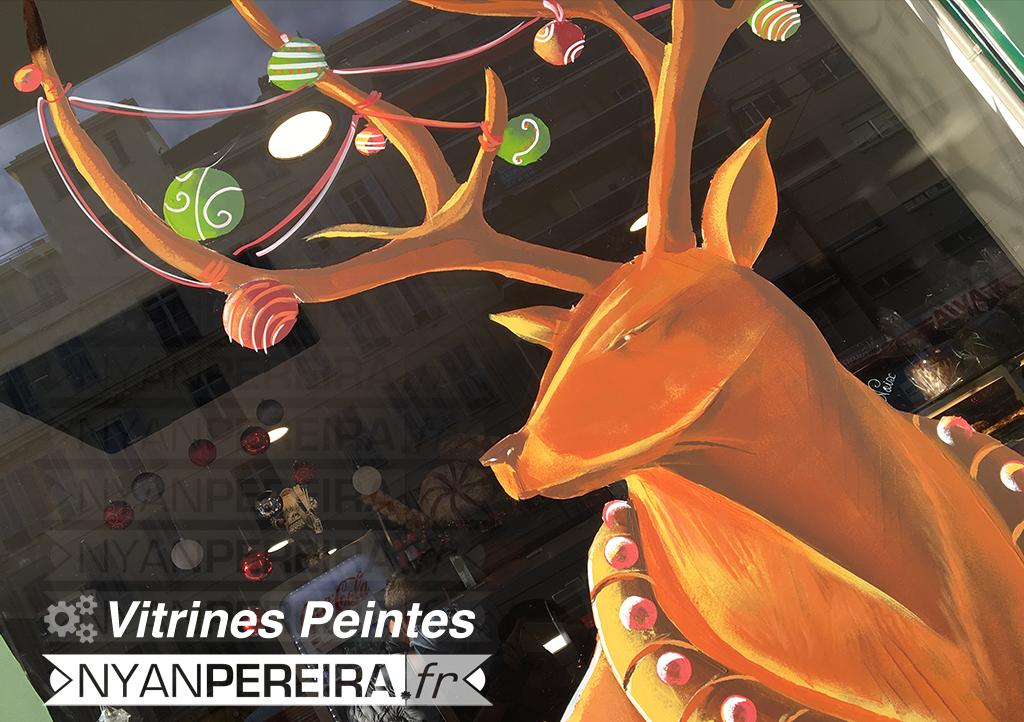 001-Decoration.hiver.noel.vitrine.peinture.original.drawing