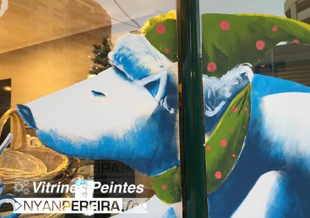 003-Decoration.hiver.noel.vitrine.peinture.original.drawing