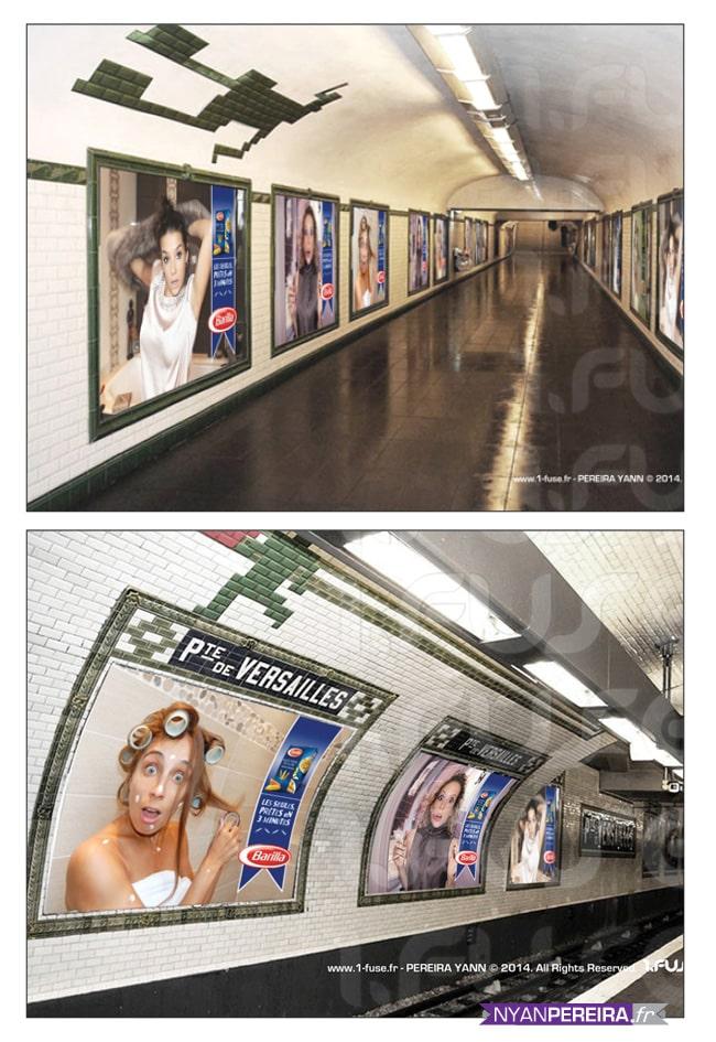 photographie pub, serie portrait femme, campagne publicitaire, pub barilla