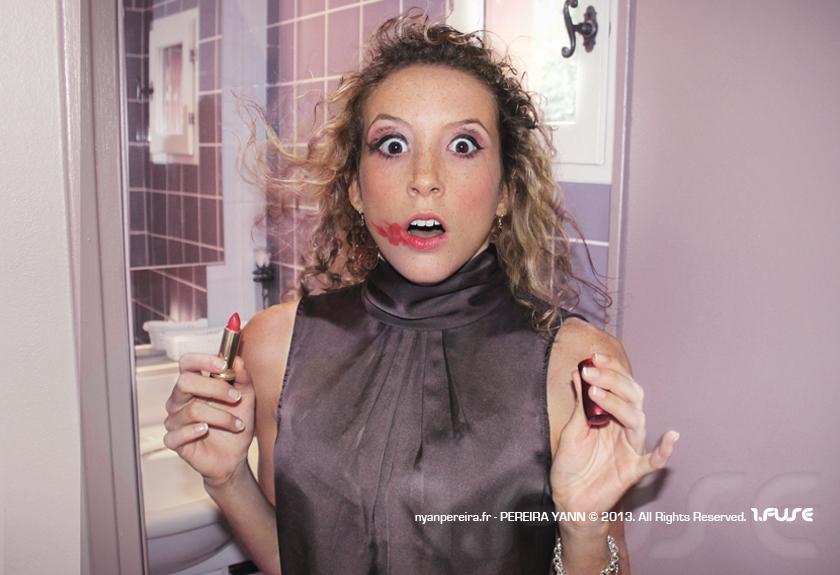 photographe portrait publicitaire, portrait femme, campagne pub barilla