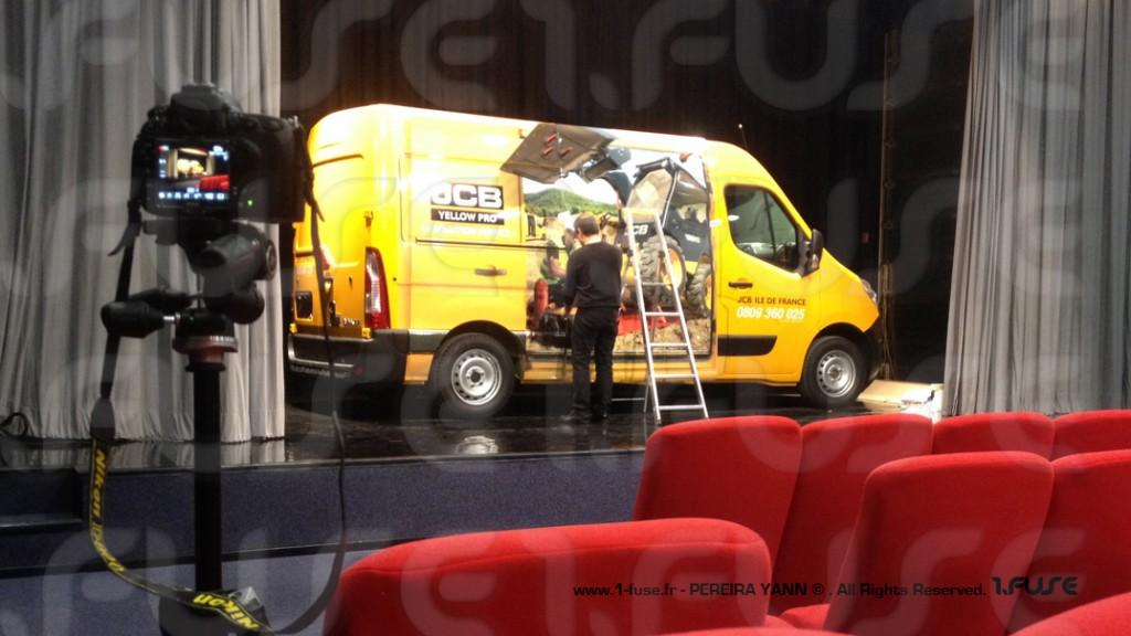 DECOADER / Pose sticker adesif camion utilitaire