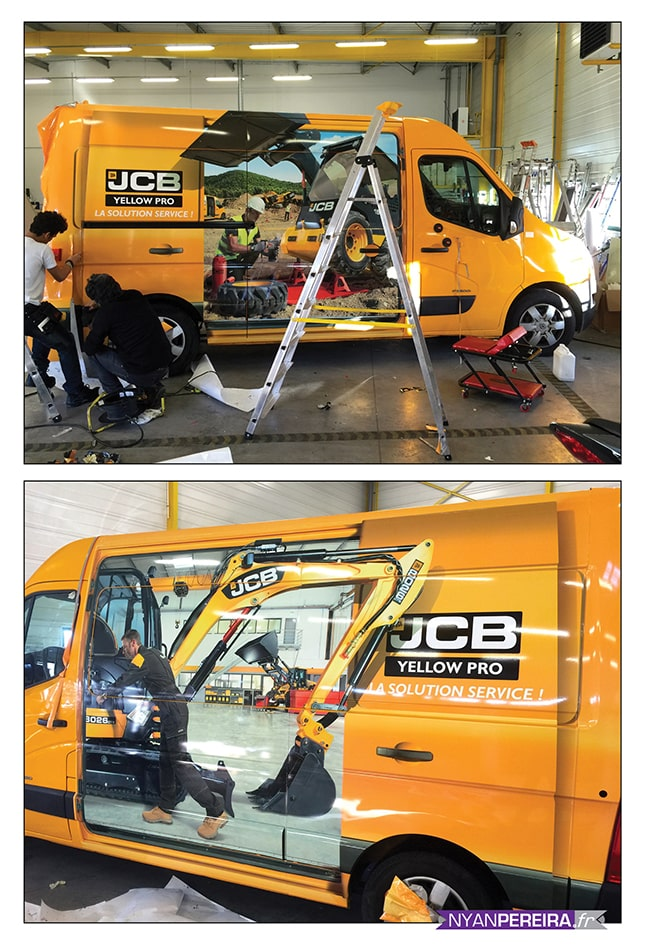 JCB Total COVERING trompe l'oeil photographe freelance