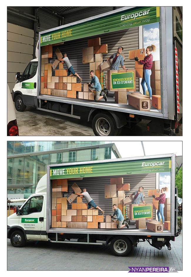 total.covering.camion.Euopcar.campagne.pub.tetris.photomontage.photomanipulation.photographe.freelance