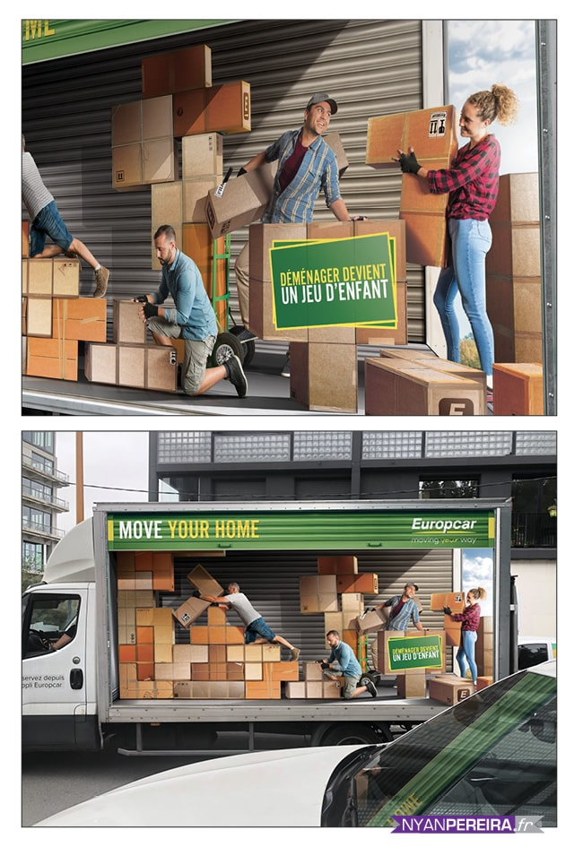 total.covering.camion.Euopcar.campagne.pub.tetris.photomontage.photomanipulation.photographe.freelance
