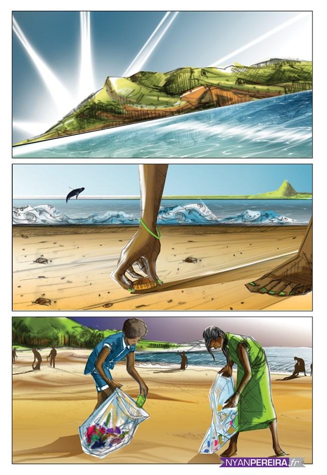 Digital painting Illustrations numériques