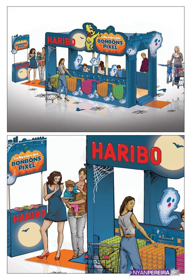 Roughs Évènementiels HARIBO