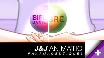 Animatique & pré-tests Pub /  laboratoire Johnson & Johnson